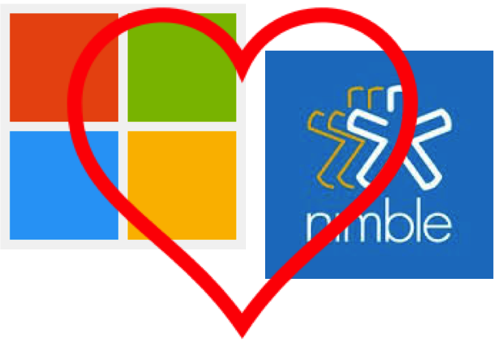 Nimble and Microsoft are Getting ever Closer